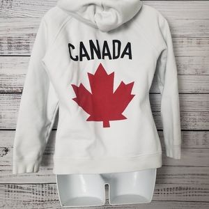 Hudson Bay Olympic Hoodie White Size M
